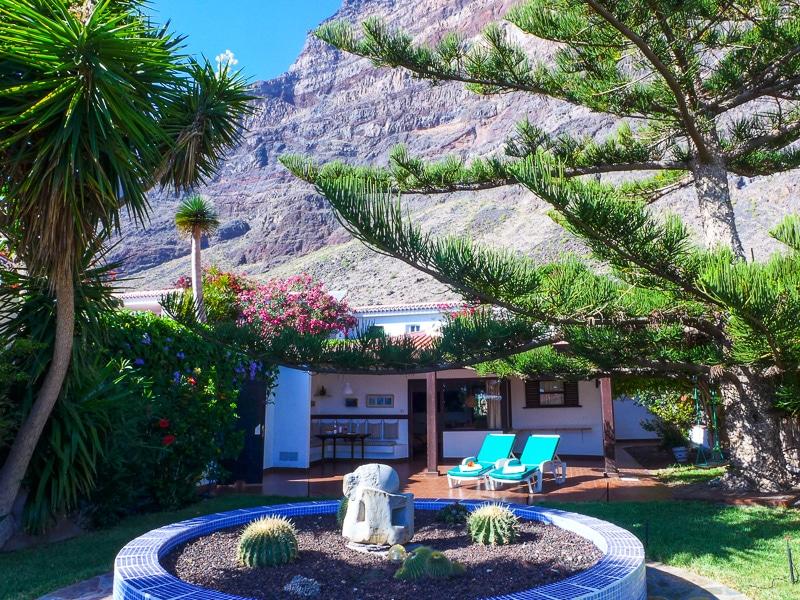Oasis Bungalows Unterkunfte In La Playa Im Valle Gran Rey La Gomera