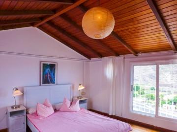 Schlafraum der Casa Sonia im Valle Gran Rey