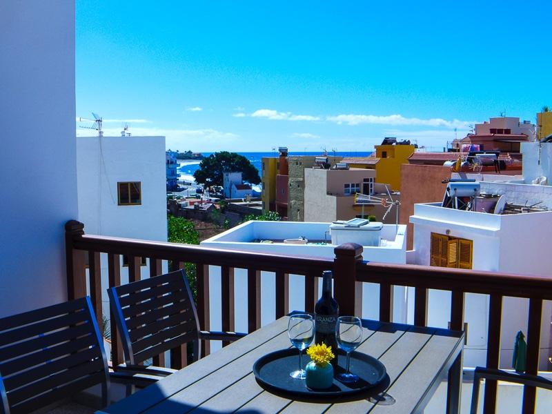 Casa La Vida Loca in La Playa im Valle Gran Rey, La Gomera