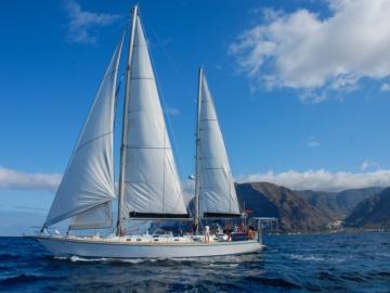 Segeln von La Gomera nach La Palma oder El Hierro