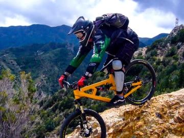 Bilder von schönen Biketouren auf La Gomera