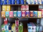 Große Auswahl an Bioprodukten und mehr