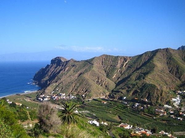 Panorama von Hermigua
