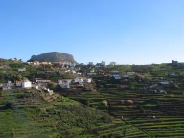 Mietwagentour vom Valle Gran Rey aus zum Tafelberg Fortaleza