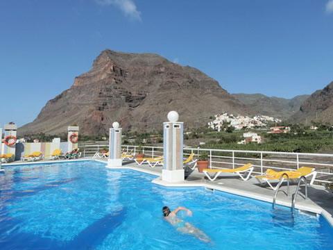 Der spektakuläre Pool des Hotel Gran Rey