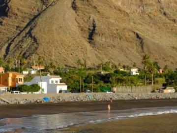 Strand im Orteil La Playa