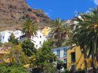 Treppenartig verteilen sich die Häuser in La Calera